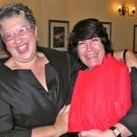 Anne & her editor Karine Wagemakers Kahn