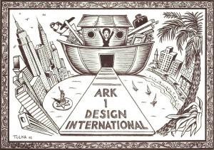 ARK 1postcard