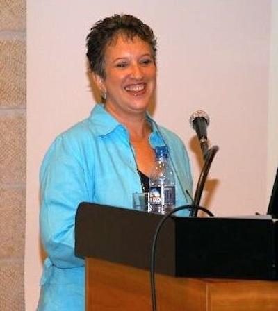 Lecturing at Mishkenot Sha'ananim