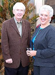 Anne & author Frank Mccourt