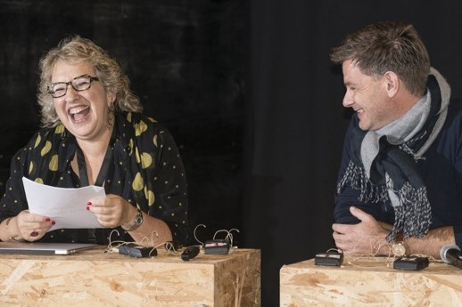 Anne as moderator - FoodPhoto Festival Denmark 2015