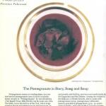Pomegranates in NY Times