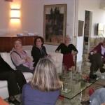 Speaking at Book Club Meeting