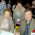 Anne with Julia Child & Jacques Pepin