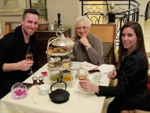 High Tea at the George V in Paris