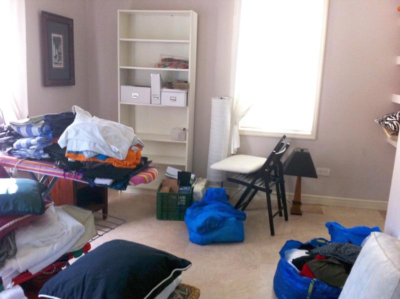 New Bedroom Mess