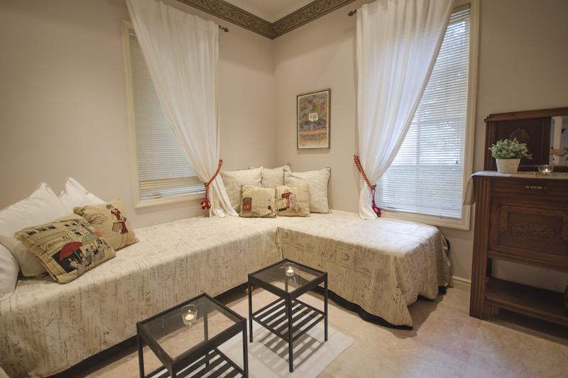 Spa Suite Lounge Area
