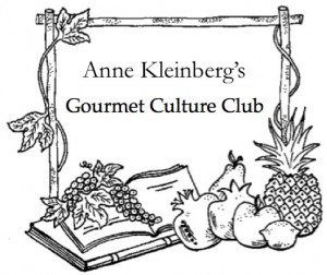 Anne Kleinberg's Gourmet Culture Club logo