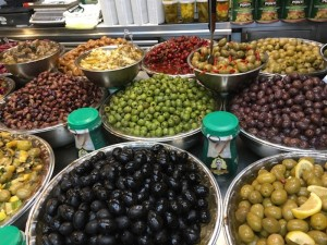 Olives at Sarona Market